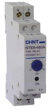 Реле времени (задержка на отключение) NTE8-120A 10-120с 1NO 230V