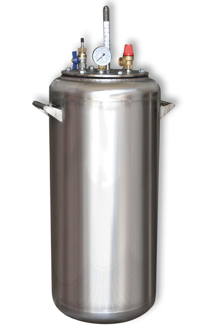 Автоклав газовый А40 нержавеющая сталь (0,5л - 40шт, 1л - 28шт)