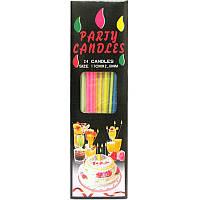 "Свечи для торта ""спагетти"", 24 шт"