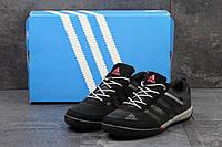 Кроссовки Adidas Daroga мужские, черные, замшевые