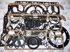 Наборы прокладок двигателя, РТИ двигателя, прокладки ГБЦ, прокладки КПП, прокладки мостов.