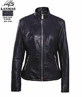 """Куртка женская кожзам полубатальная, размер 2XL-6XL Серии """" LANMAS """" купить оптом в Одессе на 7 км"""