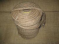 Канат джутовый тросовой свивки д.10 мм
