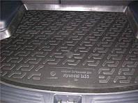 Коврик багажника  Hyundai Solaris SD (10-) серый duo