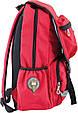 Подростковый рюкзак OX 228 OXFORD, 554032 красный 20 л, фото 2