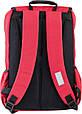 Подростковый рюкзак OX 228 OXFORD, 554032 красный 20 л, фото 3