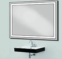 Дзеркало з лід підсвічуванням вологостійке d-4 1025Х800 мм