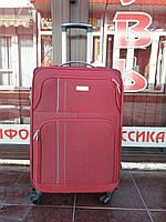 Чемодан средний размера из ткани на 4-х колесах Ormi 1609 .Одесса