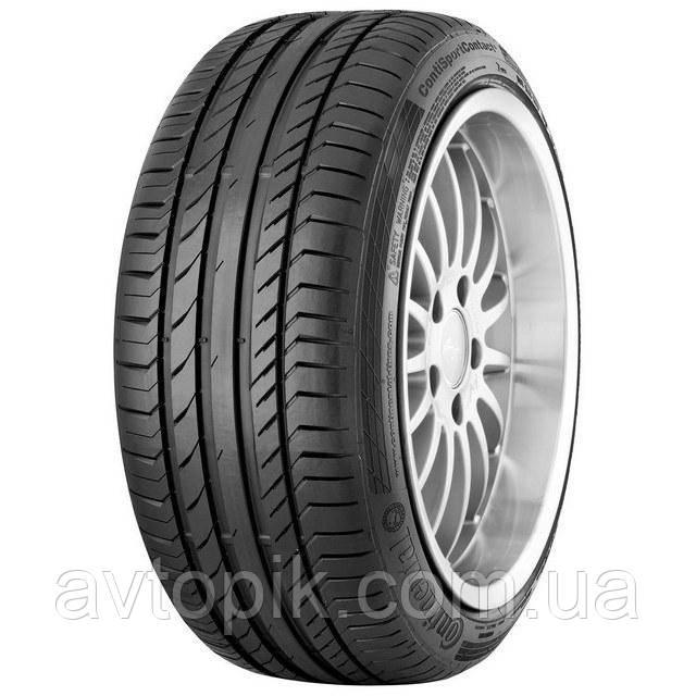 Летние шины Continental ContiSportContact 5 265/60 R18 110V