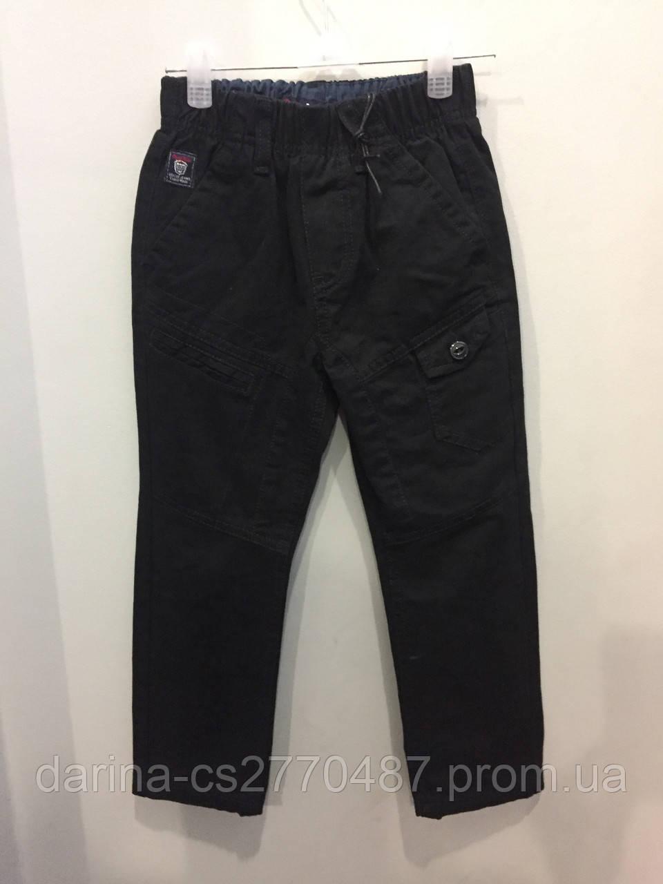 Детские коттоновые брюки 98,104 см