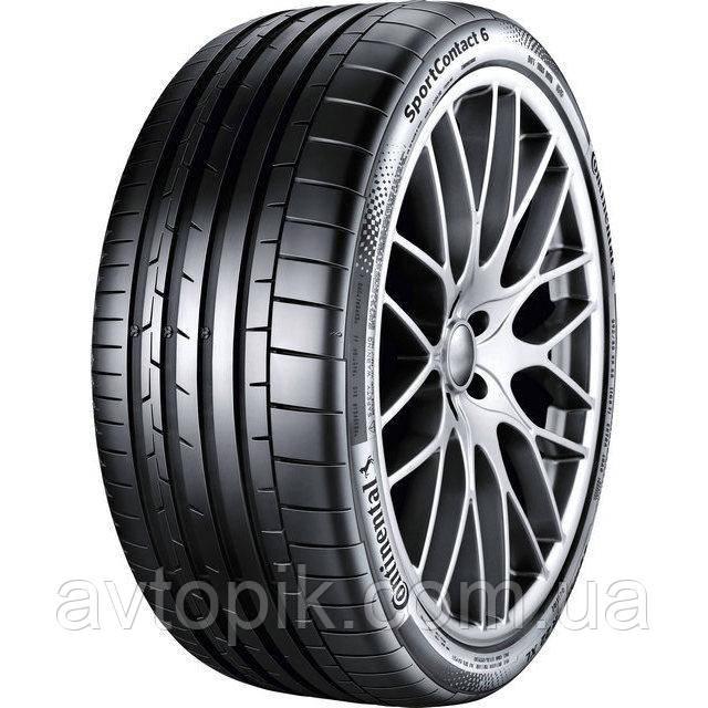 Літні шини Continental SportContact 6 235/35 ZR19 91Y XL