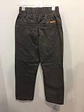 Детские коттоновые брюки для мальчика 110,122,128 см, фото 3