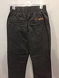 Детские коттоновые брюки для мальчика 110,122,128 см, фото 4
