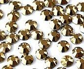 Стразы DMC, Gold Hematit SS16 термоклеевые. Цена за 144 шт