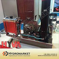 Комплект гидравлики  Hyva на  тягач с пластиковым баком