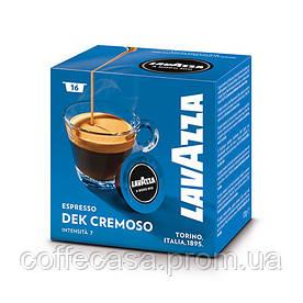 Кофе в капсулах Lavazza Dek Cremoso (A Modo Mio) 16шт.