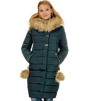 Зимнее женское пальто пуховик размеры 48- 56 Новинка!