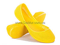 Мокасины детские (30-35) Active  0417 ПВХ желтые