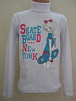 """Водолазка """"New York"""" для дівчини (7-8 років)"""