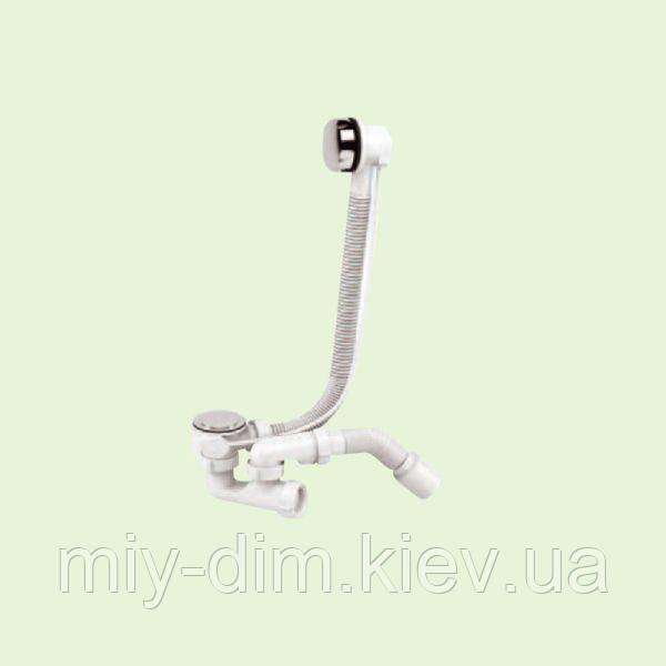 """Сифон Р0210 """"Регул. Автомат"""" для ванн та глибоких душових піддонів /SoloPlast"""
