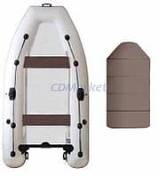 Kolibri Акция! Лодка надувная моторная Kolibri КМ-300DL и слань книжка. В подарок любые аксессуары к лодке на сумму 3% от стоимости Товара! При