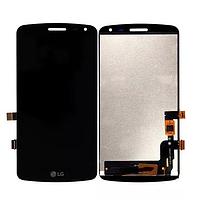 Оригинальный дисплей (модуль) + тачскрин (сенсор) для LG K5 X220   X220DS   X220MB   Q6 (черный цвет)