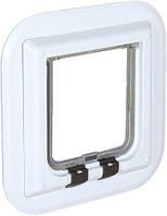 38631 Trixie Glass дверца для кошек, белый