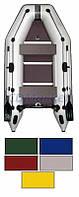 Kolibri Акция! Лодка надувная моторная Kolibri КМ-300D цветная или комбинированная и фанерный пайол со стрингерами. В подарок любые аксессуары к лодке