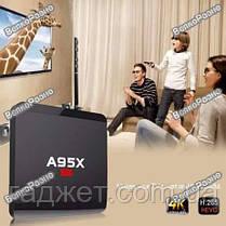 Смарт ТВ приставка Smart tv A95x R1. Android TV BOX Nexbox A95X R1 , фото 3