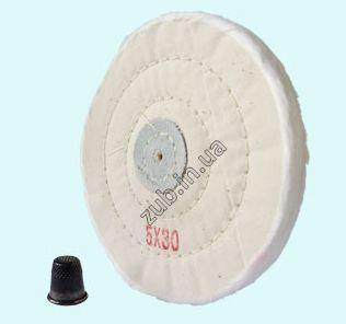 Круг муслиновый BW530SL белый 5*30