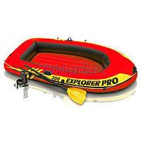 Intex Акция! Лодка надувная гребная Intex 58358 Explorer pro 300 . Скидка 3 % на насос, ремкомплект и аксессуары при покупке лодки! Спешите,