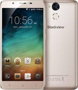 Смартфон ORIGINAL Blackview P2 Gold (8Х1.5Ghz; 4Gb/64Gb; 13МР/8МР; 6000 mAh)