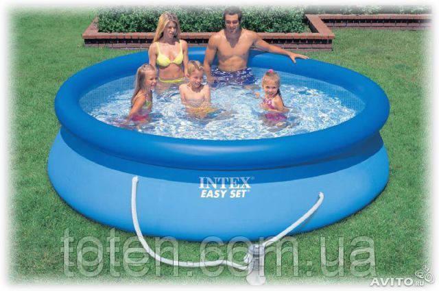 Надувной бассейн Intex 28122 (56922) Easy Set Pool размер 305х76 см 11