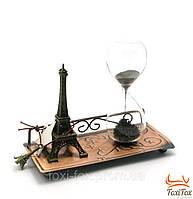 """Песочные часы """"Париж"""" с эльфелевой башней"""