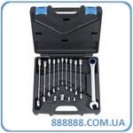 Набор ключей трещоточных комбинирован. 72 зуба 8-19 мм ARW-11MK08 Licota