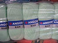 Пряжа для ручного вязания YarnArt Angora ram нитки 3032 мята