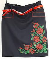 Вышитые школьные юбки