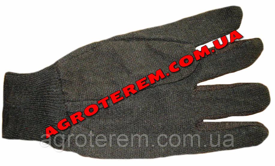 Рабочие перчатки (коричневые)