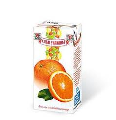"""""""Соки Украины"""" Нектар Апельсиновый 0,2л"""