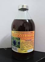 """Настойка """"Мордовника""""- оказывает тонизирующее действие, помогает при головной боли, истощении."""