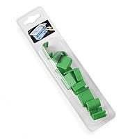 Клипса для гастроемкостей зеленая 12 шт. Hendi