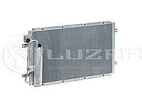 Радиатор кондиционера с ресивером Ваз 2190 Гранта ЛУЗАР