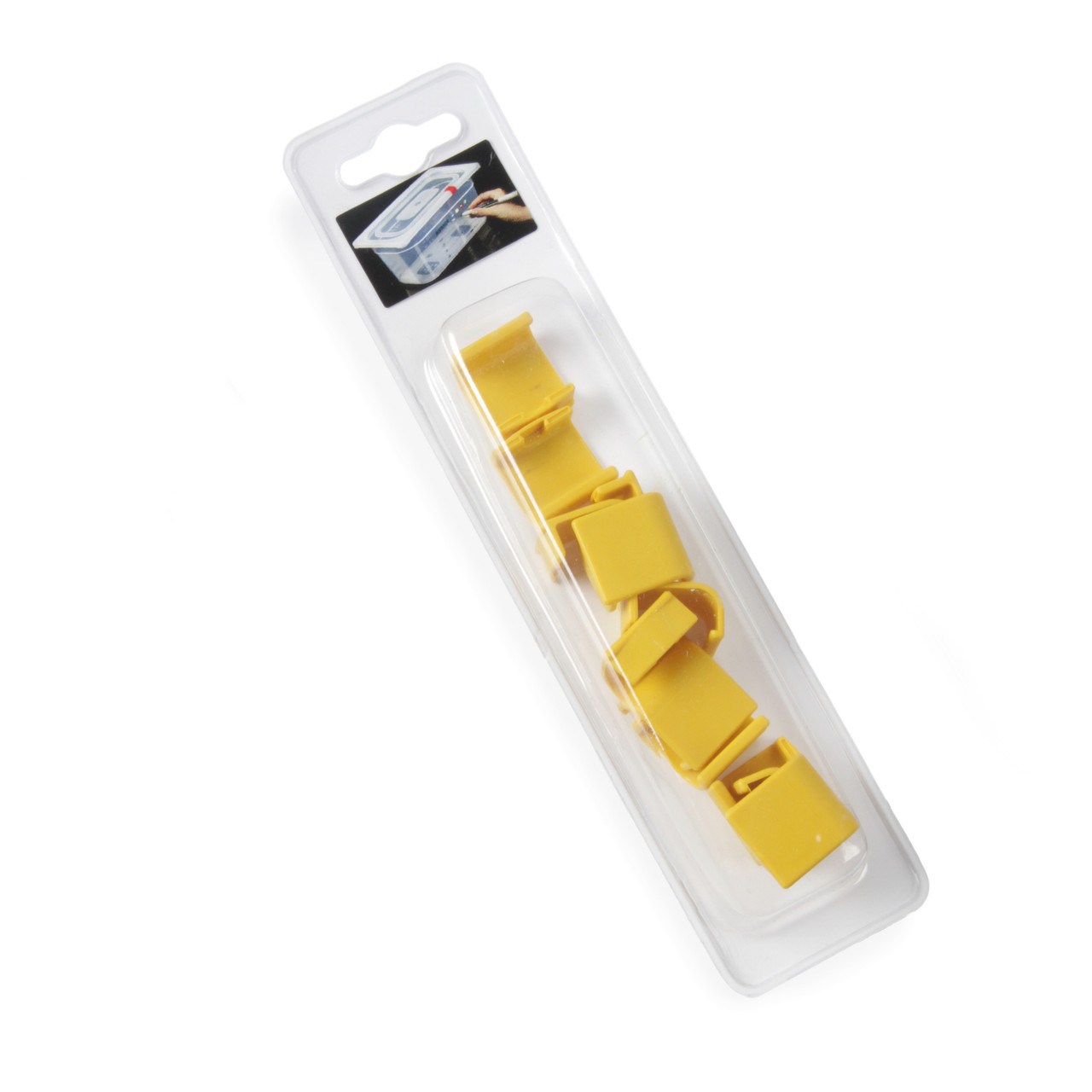 Клипса для гастроемкостей желтая 12 шт. Hendi