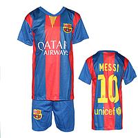 """Футбольная форма на детей """"Барселона"""" Месси MC1"""