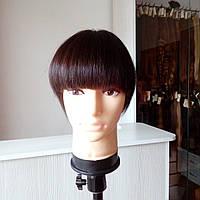 Накладка из волос на макушку при облысении образец
