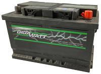 Аккумулятор Автомобильный Gigavat 68 Ah (Гигават) 68 Ампер GW 0185756803