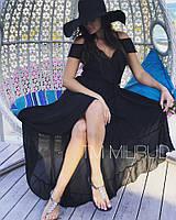 Пляжное платье-халат в расцветках