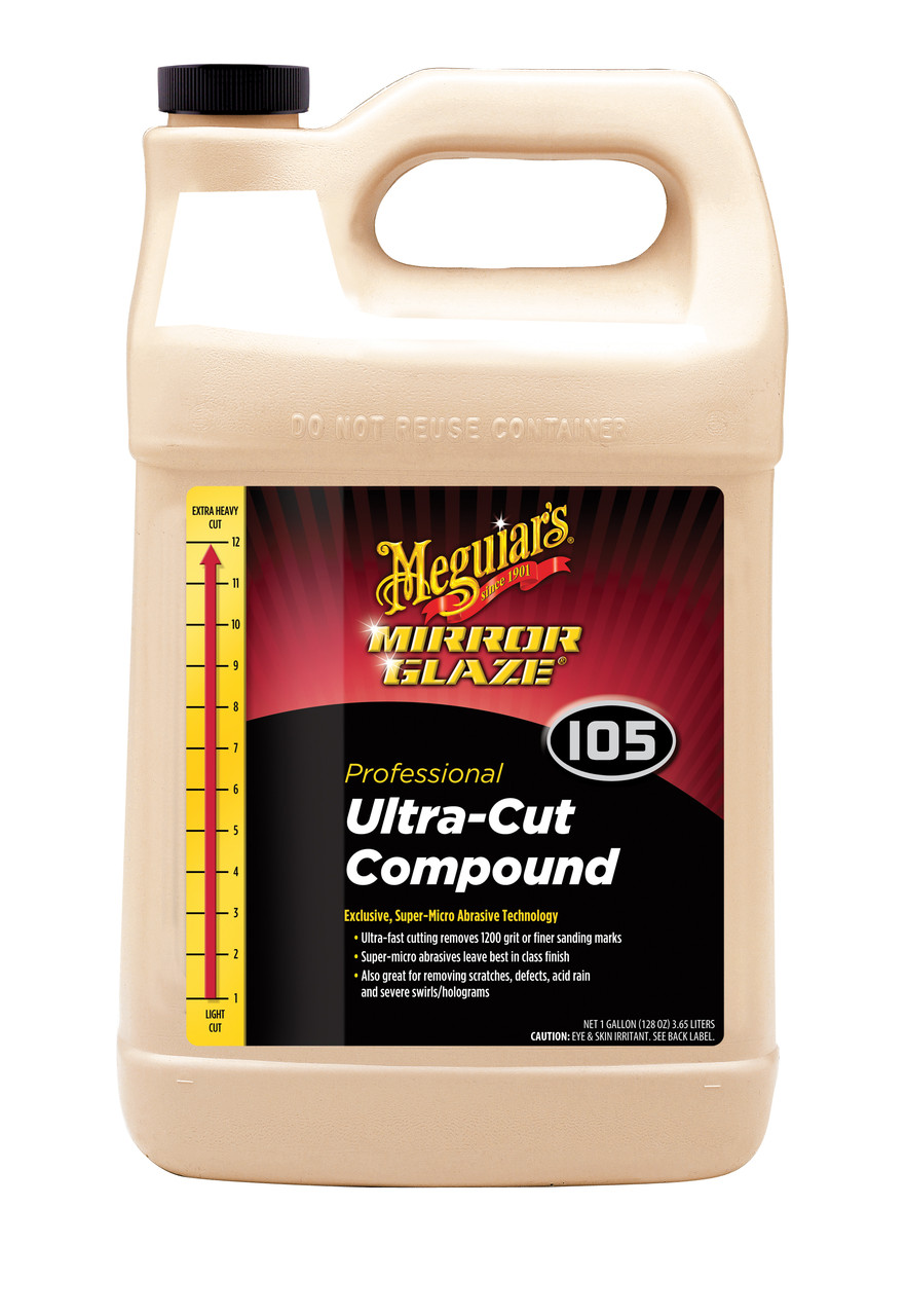 Полировальная паста ультра - Meguiar's Ultra-Cut Compound 3,79 л. (M10501)