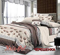 Полуторный набор постельного белья 150*220 из Поплина №163602 KRISPOL™
