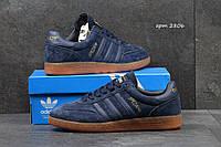 Мужские кроссовки Adidas Spezial синие замшевые, Индонезия